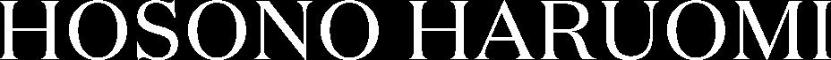 HOSONO HARUOMI